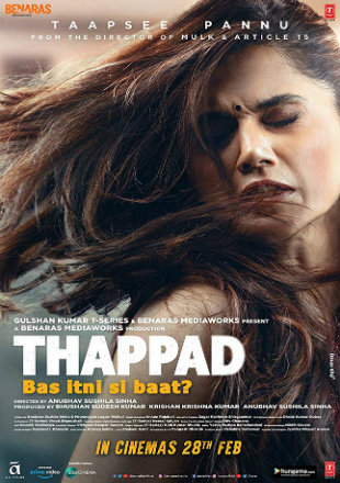 Thappad 2020 Full Hindi Movie Download Hd In pDVDRip