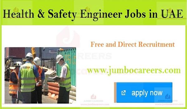 Sharjah job openings in Safety engineers, Salary details of Sharjah jobs,