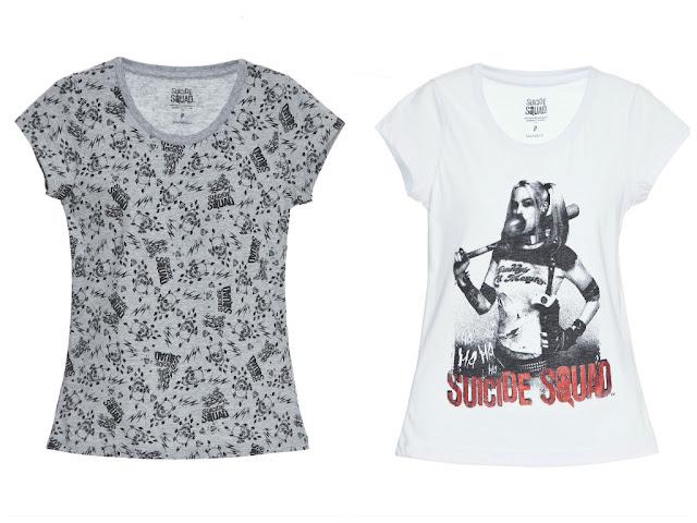coleção de camisetas esquadrão suicida, Camiseta Arlequina (3)