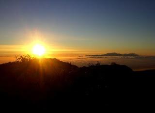 Golden Sunrise Bromo