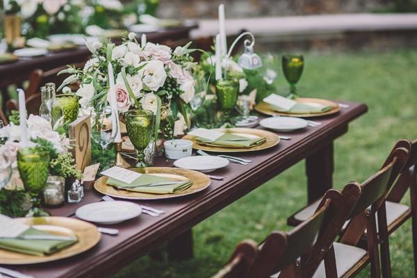 Una boda en verde en LOVE, LOVE by Chic & Decó