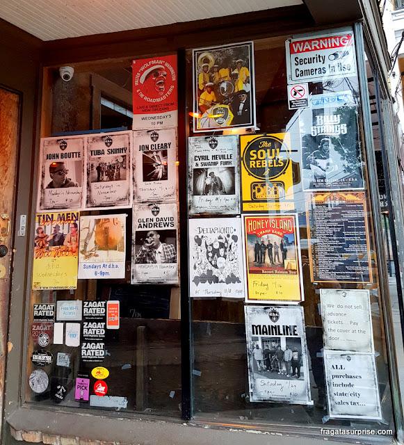 Bares de jazz em Frenchmen Street