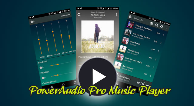 PowerAudio Pro Music Player v4.3.0 Apk Terbaru (Paid Version)