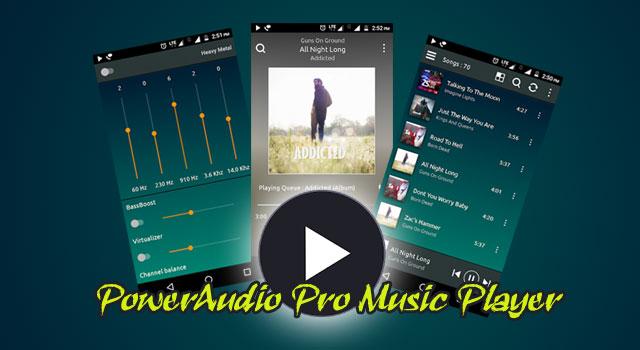 PowerAudio Pro Music Player Apk