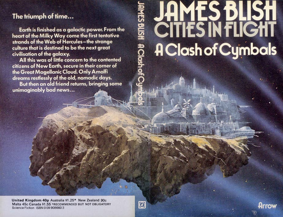 Chris Foss cover of A Clash of Cymbals