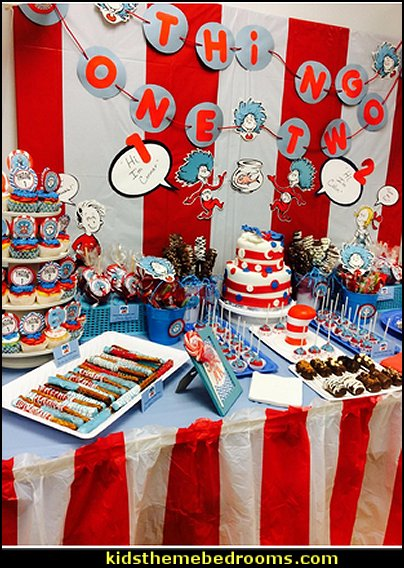 dr. seuss party decorations  Dr. Seuss party theme - Dr. Seuss Birthday Party -  Dr. Seuss Party Decor - Dr. Seuss Party Supplies -  Dr. Seuss birthday party supplies - Dr Seuss party decorations - Dr Seuss wall decals - Dr Seuss party standups
