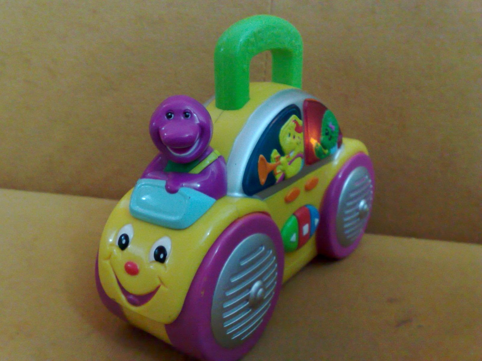 Car For Kids >> Pu3 Store @~Sold Item~@: Barney Musical Radio Car
