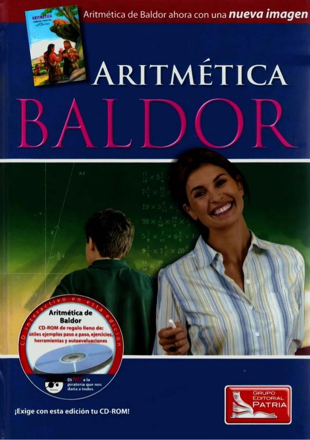 Aritmética de Baldor – Nueva Imagen