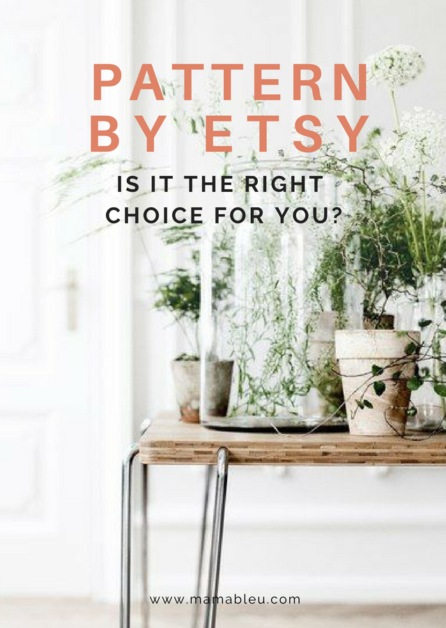 Pattern By Etsy - Is it a Good Choice for You? | MamaBleu.com