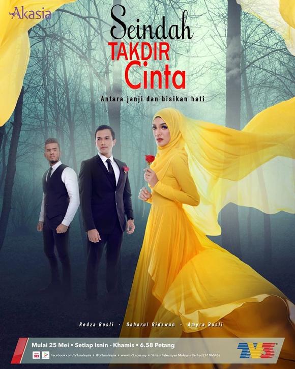 Drama Seindah Takdir Cinta TV3 Akasia