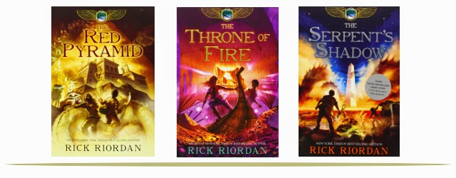 The Kane Chronicles Book Series for Tweens and Teens  |  www.9CoolThings.com