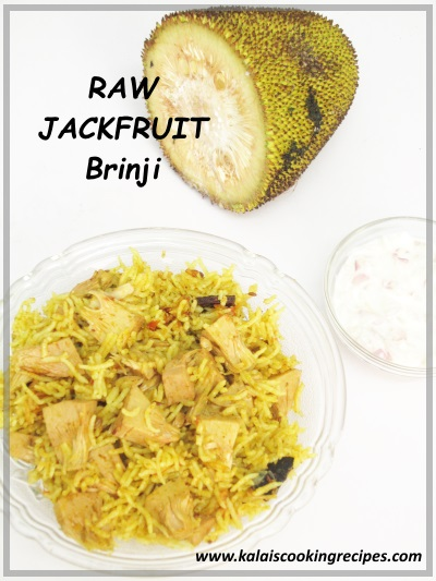 raw jackfruit brinji