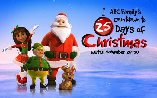 ABC Family's Countdown to 25 days of Christmas 2014
