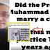 Penjelasan Dr. Mengenai Isu Rasulullah Kahwini Aishah Yang Dianggap Isu Pedofil Oleh Bukan Islam