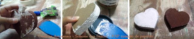 Coisicas Artesanais - Simone dos Santos - PAP coração decorativo