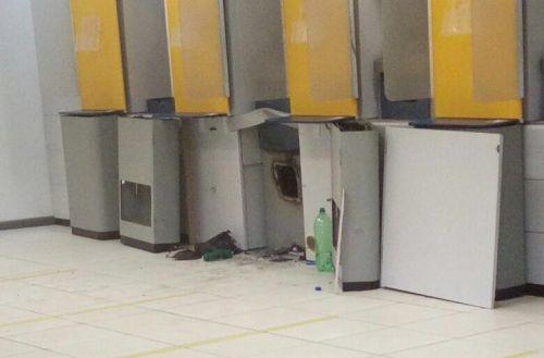 Banco é arrombado em Itaitinga, mas dinheiro não é levado