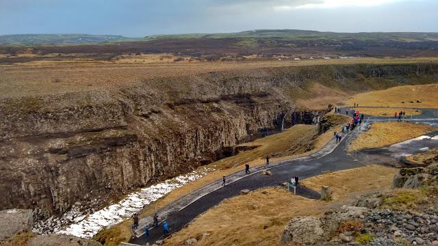 Gullfoss, Islandia wodospad