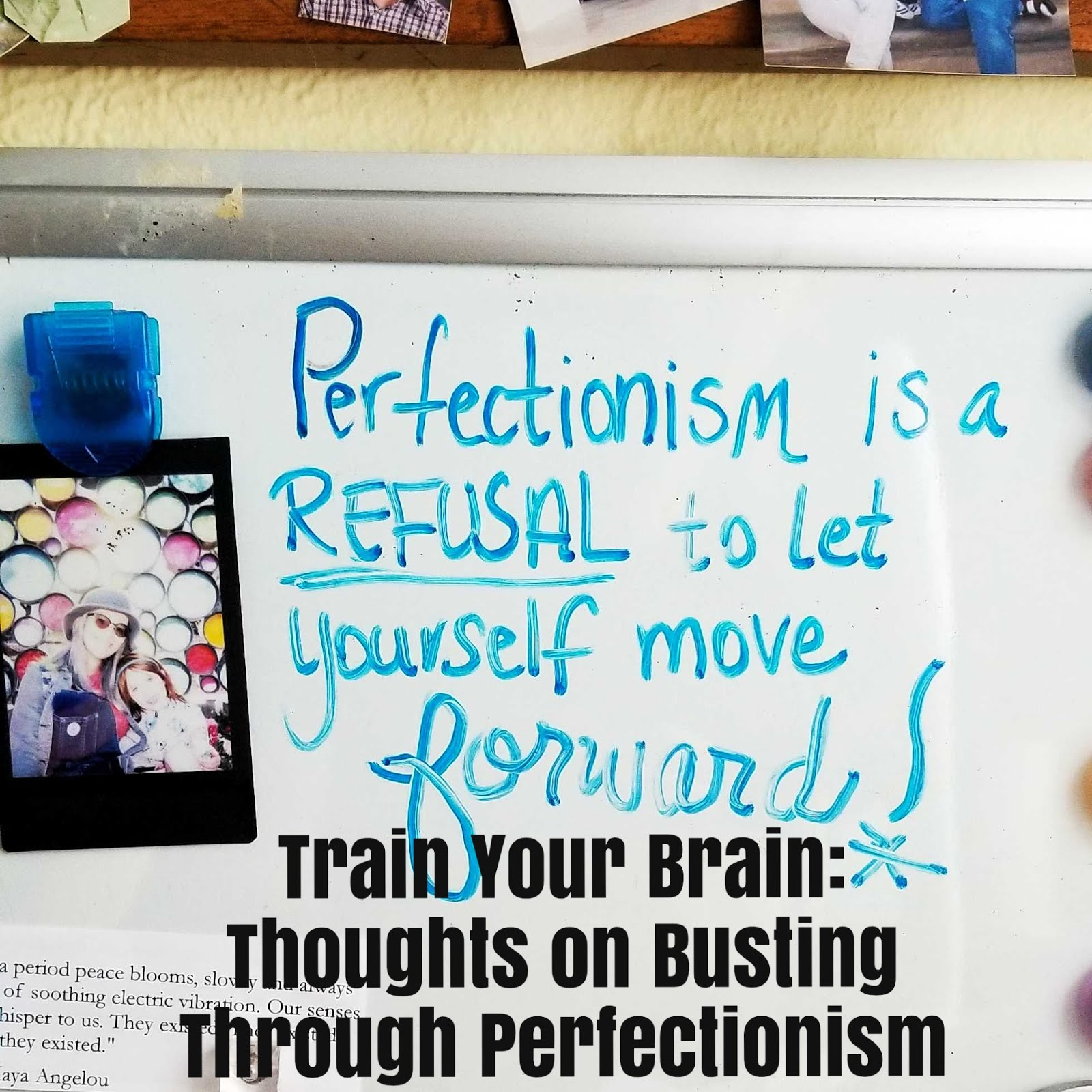 PERFECTIONISM & CREATIVE GROWTH