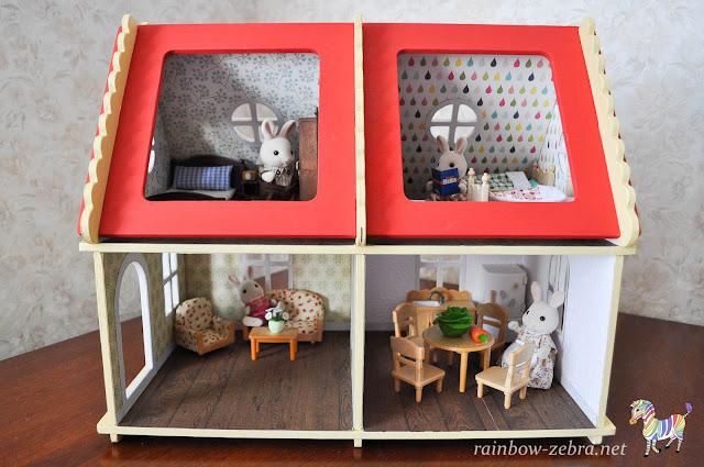 Новый домик для кроликов