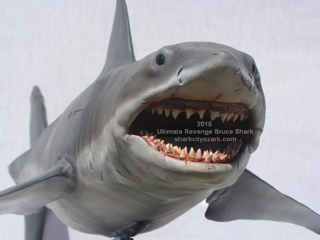 Shark Boat Toy : Available now shark city ozark s jaws the revenge maquette