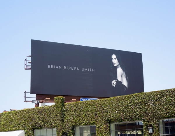Demi Moore Brian Bowen Smith photography billboard