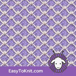 Slip Stitch Knitting 24: Royal Quilting | Easy to knit #knittingstitches #knittingpattern