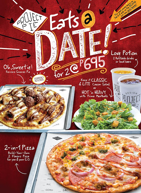 Eat's a Pizza Date with Project Pie Philippines