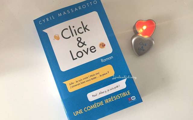 Mon avis concernant le nouveau roman de Cyril Massarotto, Click & Love, paru chez Xo éditions