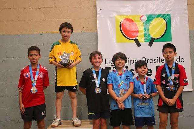 Mesatenistas  de Registro-SP são destaques na Liga Nipo-Brasileira