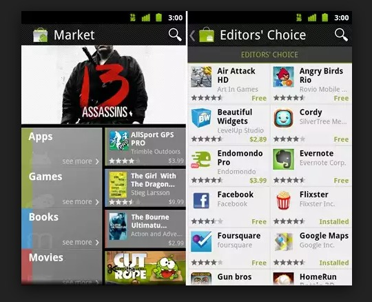 Android Market For Android 2.1 & Lower Will Be Shut Down on June 30th Forever