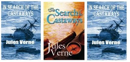 Jules Verne Grant kapitány gyermekei angol kiadások