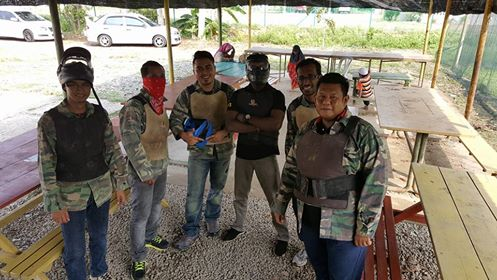 Latihan Terakhir Paintball Sebelum Tournament