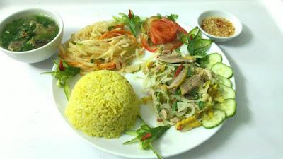 Cơm gà - Đậm đà hương vị đất Quảng