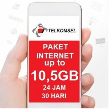 Telkomsel Data Internet Up To 10.5GB (Simpati, Kartu AS, Loop ), 24jam, 30hari, bonus pulsa Rp 20rb