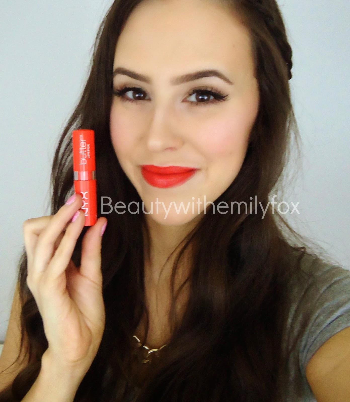 c31f01d41c3 Beautywithemilyfox  NYX Butter Lipsticks Collection