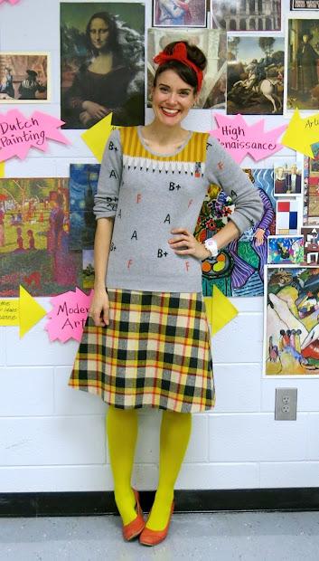 Cassie Stephens Art Teacher What the Wore