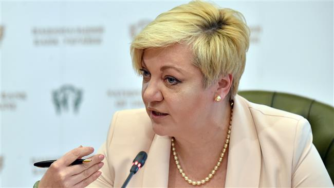 Ukraine's central bank governor Valeria Gontareva resigns amid praise, threats