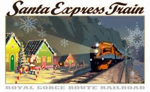 Santa Express Train in Canon City Colorado