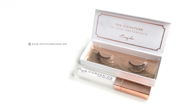 ESQIDO Lashes in Unforgettable and Companion Eyelash Glue