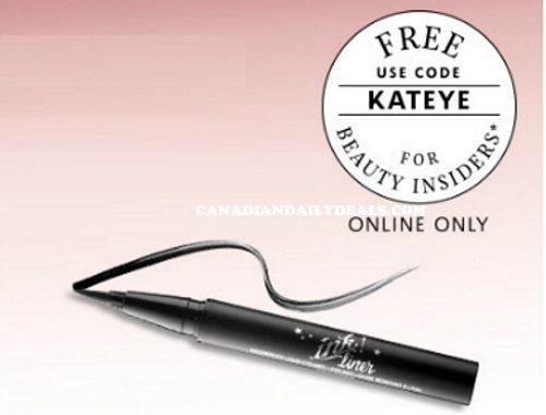 Sephora Free Kat Von D Eye Liner Sample