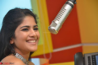 Mega Akash in a sleeveless Off Shoulder Cute Dress Stunnign beauty at Radio Mirchi Promoting Movie LIE ~ Celebrities Galleries 038.JPG