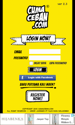 login now