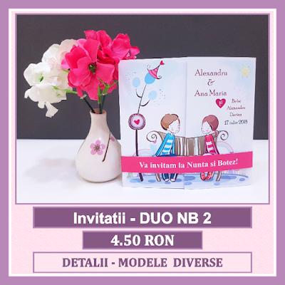 http://www.bebestudio11.com/2018/04/invitatii-nunta-si-botez-duo-nb-2.html