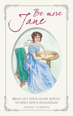 Book cover: Be More Jane by Sophie Andrews