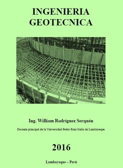 Ingeniería Geotécnica – William Rodríguez Serquén