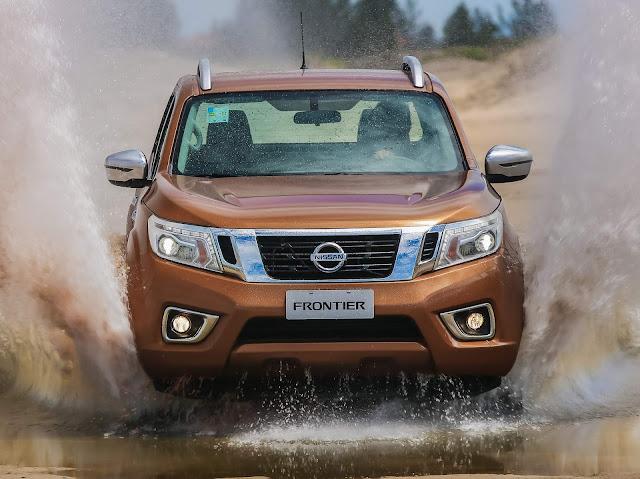 Nova Nissan Frontier 2018