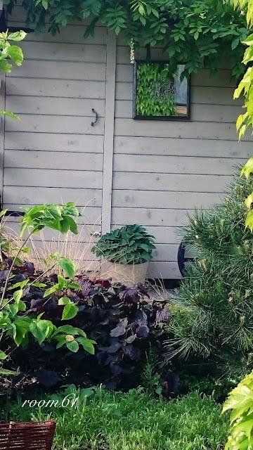 mirror-in-garden