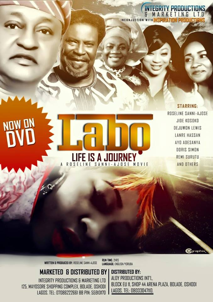 LABO Life Is A Journey on DVD