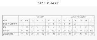 Heelys Size Guide
