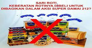 GNPF MUI Serukan Umat Islam Boikot Sari Roti, Begini Penjelasannya Melalui Ketua dan Wakil Ketua Media Center